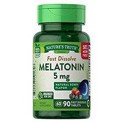 Nature's Truth Melatonin 5MG Bonus 60+30 Tablets Berry