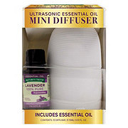 Nature's Truth Mini Diffuser Essential Oils Lavender Set