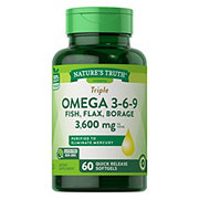 Nature's Truth Triple Omega 3-6-9 Fish, Flax, Borage