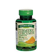 Nature's Truth Tumeric Curcumin Complex 500 mg Plus Black Pepper Extract