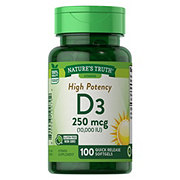 Nature's Truth Vitamin D3 10,000 IU Softgels
