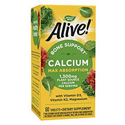 Nature's Way Alive! Calcium Bone Formula Max Absorption Tablets
