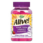 Nature's Way Alive! Hair Skin & Nails Gummies