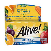 Nature's Way Alive! Men's 50+ Multivitamin/Multimineral Once Daily Tablets