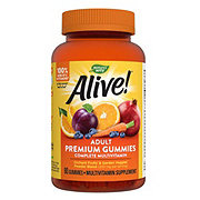 Nature's Way Alive! Multi-Vitamin Adult Gummies Assorted Flavors