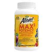 Nature's Way Alive! Multi-Vitamin Max Potency Tablets