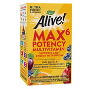 Nature's Way Alive! Multi-Vitamin Max Potency Vcap Capsules