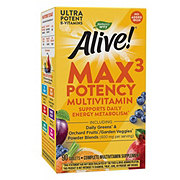 Nature's Way Alive! Multi-Vitamin No Iron Added Tablets