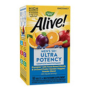 Nature's Way Alive! Once Daily Men's 50+ Ultra Potency Multi-Vitamin & Whole Food Energizer Tablets