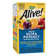 Nature's Way Alive! Once Daily Men's Ultra Potency Multi-Vitamin & Whole Food Energizer Tablets