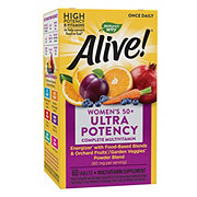 Nature's Way Alive! Once Daily Women's 50+ Ultra Potency Multi-Vitamin & Whole Food Energizer Tablets