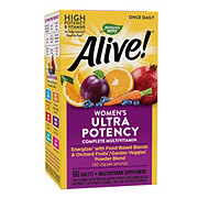 Nature's Way Alive! Once Daily Women's Ultra Potency Multi-Vitamin & Whole Food Energizer Tablets