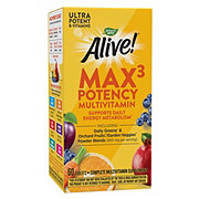Nature's Way Alive! Whole Food Energizer Multi-Vitamin With Iron Tablets