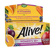 Nature's Way Alive! Women's 50+ Multivitamin/Multimineral Once Daily Tablets