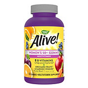 Nature's Way Alive! Women's 50 Plus Gummy Vitamins