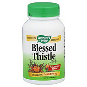 Nature's Way Blessed Thistle Herb 390 mg Capsules