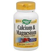Nature's Way Calcium & Magnesium Mineral Complex Capsules