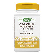 Nature's Way Calcium Mag & D Complex Capsules