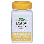 Nature's Way Calcium Mag & D Complex Capsules