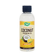 Nature's Way Coconut Oil Lemon Herb