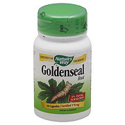 Nature's Way Goldenseal Root 570 mg Capsules