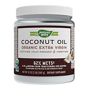 Nature's Way Organic Pure Extra Virgin Coconut Oil