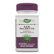 Nature's Way Premium Extract Saw Palmetto Standardized Softgels