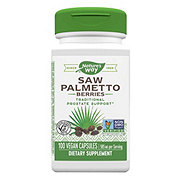 Nature's Way Premium Herbal Saw Palmetto Berries 585 Mg Capsules