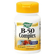 Nature's Way Premium Quality B-50 Complex Capsules