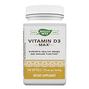 Nature's Way Vitamin D3 5000 IU Softgels