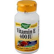 Nature's Way Vitamin E 400 I.U. with D -Alpha Softgels