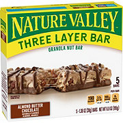 Nature Valley Almond Butter Chocolate Layered Granola Nut Bars
