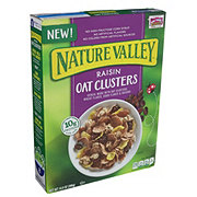 Nature Valley Cereal Raisin Oat Clusters