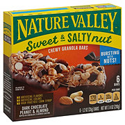 Nature Valley Dark Chocolate Peanut & Almond Sweet & Salty Nut Granola Bars