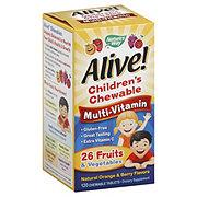 Natures Way Alive Kids Chewables