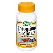 Natures Way Chromium Picolate Capsules