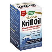 Natures Way Efa Gold Krill Oil 500 Mg Softgels