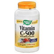 Natures Way Nature's Way 500 Mg. Vitamin C Tablets with Bioflavinoids