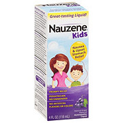Nauzene Homeopathic Liquid Grape Upset Stomach & Nausea