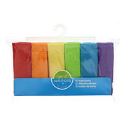 Neat Solutions 12 Pack Solid Bright Knit Terry Washcloth Set