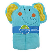 Neat Solutions Elephant 3D Character Woven Terry Hooded Bath Wrap