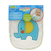 Neat Solutions Elephant Character Applique Bath Time Warming Towel