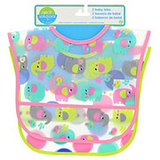 Neat Solutions Elephant Peva Toddler Bibs