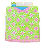 Neat Solutions Flower Fabric Toddler Bibs