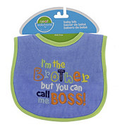 Neat Solutions Little Brother Baby Bib