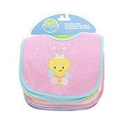 Neat Solutions Pink Baby Bibs