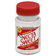 Necta Sweet Saccharin Sugar Substitute Tablets