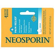 Neosporin + Pain Relief Maximum Strength First Aid Antibiotic/Pain Relieving Cream