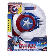 Nerf Captain America Blaster Reveal Shield