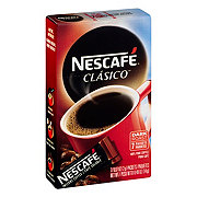 Nescafe Clasico Dark Roast Instant Coffee Packets